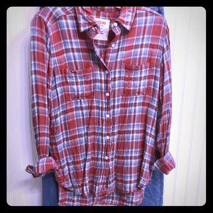 NWOT plaid shirt